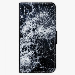 Flipové pouzdro iSaprio - Cracked - iPhone 8 Plus