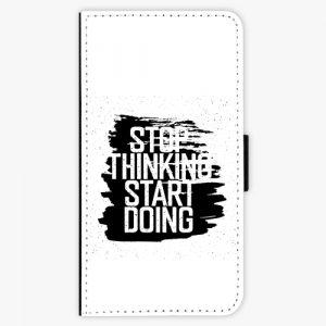 Flipové pouzdro iSaprio - Start Doing - black - Huawei P10 Plus