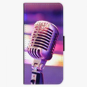 Flipové pouzdro iSaprio - Vintage Microphone - Samsung Galaxy Note 8