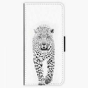 Flipové pouzdro iSaprio - White Jaguar - Samsung Galaxy Note 8