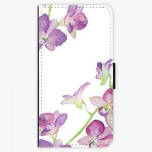 Flipové pouzdro iSaprio - Purple Orchid - Huawei P9