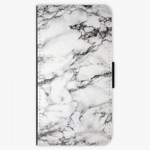 Flipové pouzdro iSaprio - White Marble 01 - Huawei P10 Plus