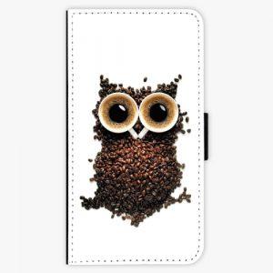Flipové pouzdro iSaprio - Owl And Coffee - Huawei P10 Plus