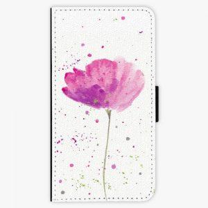 Flipové pouzdro iSaprio - Poppies - Lenovo Moto G4 / G4 Plus