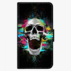 Flipové pouzdro iSaprio - Skull in Colors - Huawei P10 Plus