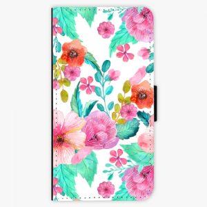 Flipové pouzdro iSaprio - Flower Pattern 01 - Huawei Ascend P9 Lite