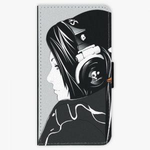 Flipové pouzdro iSaprio - Headphones - Huawei P9