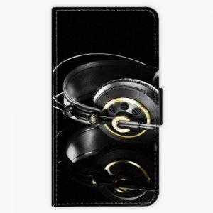 Flipové pouzdro iSaprio - Headphones 02 - Huawei P10 Plus