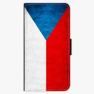 Flipové pouzdro iSaprio - Czech Flag - iPhone 5/5S/SE