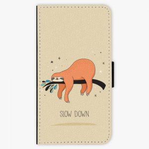 Flipové pouzdro iSaprio - Slow Down - Samsung Galaxy S6