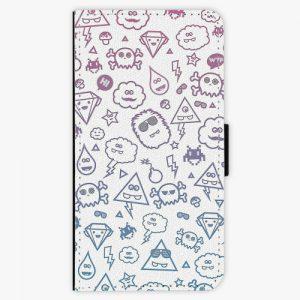 Flipové pouzdro iSaprio - Funny Clouds - Huawei P10 Plus