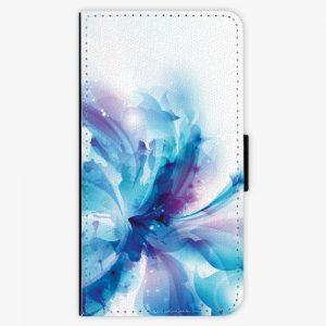 Flipové pouzdro iSaprio - Abstract Flower - Huawei P10 Plus