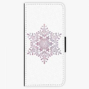Flipové pouzdro iSaprio - Snow Flake - Samsung Galaxy Note 8