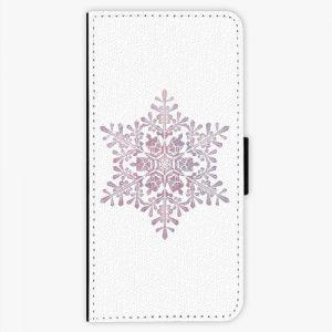 Flipové pouzdro iSaprio - Snow Flake - Samsung Galaxy S8