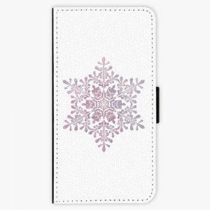 Flipové pouzdro iSaprio - Snow Flake - Huawei Ascend P8