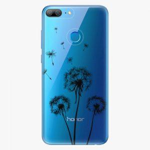 Plastový kryt iSaprio - Three Dandelions - black - Huawei Honor 9 Lite