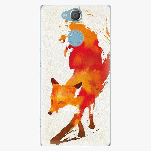 Plastový kryt iSaprio - Fast Fox - Sony Xperia XA2