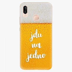 Plastový kryt iSaprio - Jdu na jedno - Huawei P20 Lite