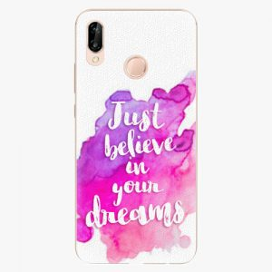 Plastový kryt iSaprio - Believe - Huawei P20 Lite
