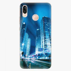 Plastový kryt iSaprio - Night City Blue - Huawei P20 Lite
