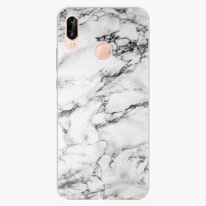 Plastový kryt iSaprio - White Marble 01 - Huawei P20 Lite
