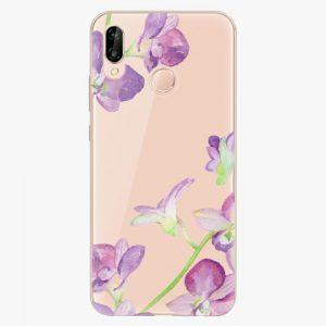 Plastový kryt iSaprio - Purple Orchid - Huawei P20 Lite