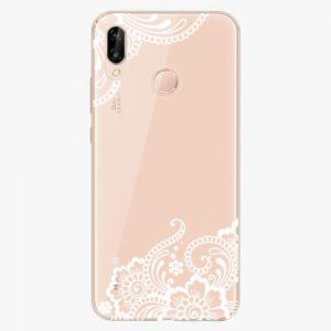 Plastový kryt iSaprio - White Lace 02 - Huawei P20 Lite