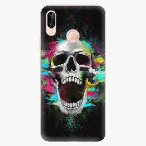 Plastový kryt iSaprio - Skull in Colors - Huawei P20 Lite