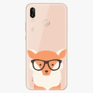 Plastový kryt iSaprio - Orange Fox - Huawei P20 Lite