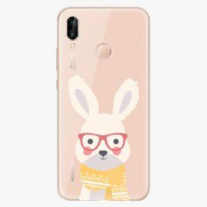 Plastový kryt iSaprio - Smart Rabbit - Huawei P20 Lite