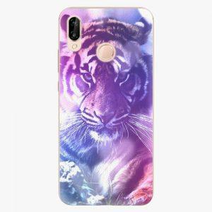 Plastový kryt iSaprio - Purple Tiger - Huawei P20 Lite