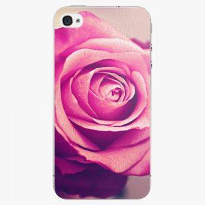 Plastový kryt iSaprio - Pink Rose - iPhone 4/4S