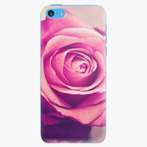 Plastový kryt iSaprio - Pink Rose - iPhone 5C