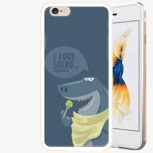 Plastový kryt iSaprio - Love Salad - iPhone 6/6S - Gold