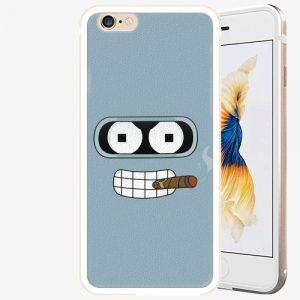 Plastový kryt iSaprio - Bender - iPhone 6/6S - Gold
