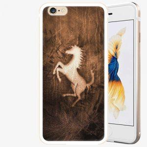 Plastový kryt iSaprio - Vintage Horse - iPhone 6/6S - Gold