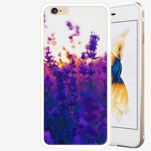 Plastový kryt iSaprio - Lavender Field - iPhone 6 Plus/6S Plus - Gold