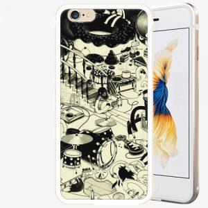 Plastový kryt iSaprio - Underground - iPhone 6 Plus/6S Plus - Gold