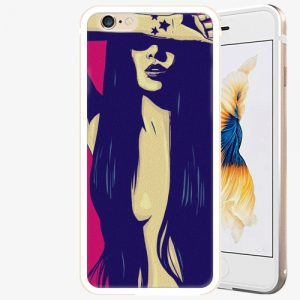 Plastový kryt iSaprio - Cartoon Girl - iPhone 6 Plus/6S Plus - Gold