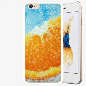 Plastový kryt iSaprio - Orange Water - iPhone 6 Plus/6S Plus - Gold