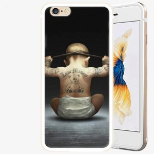 Plastový kryt iSaprio - Crazy Baby - iPhone 6 Plus/6S Plus - Gold