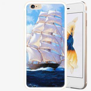 Plastový kryt iSaprio - Sailing Boat - iPhone 6 Plus/6S Plus - Gold
