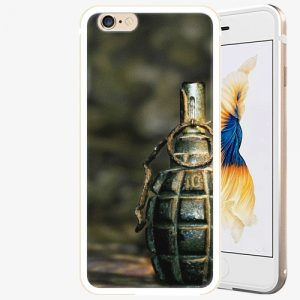 Plastový kryt iSaprio - Grenade - iPhone 6 Plus/6S Plus - Gold