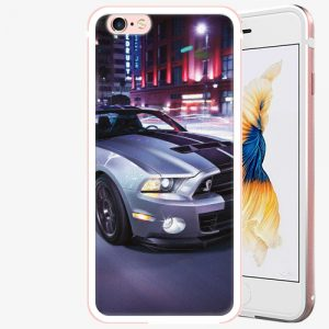 Plastový kryt iSaprio - Mustang - iPhone 6 Plus/6S Plus - Rose Gold