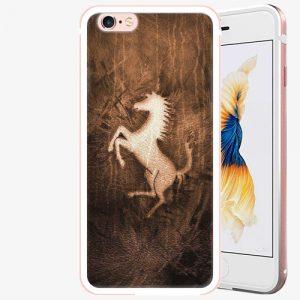 Plastový kryt iSaprio - Vintage Horse - iPhone 6 Plus/6S Plus - Rose Gold