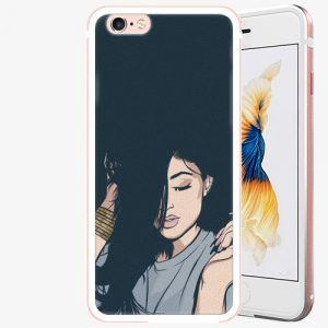 Plastový kryt iSaprio - Swag Girl - iPhone 6 Plus/6S Plus - Rose Gold