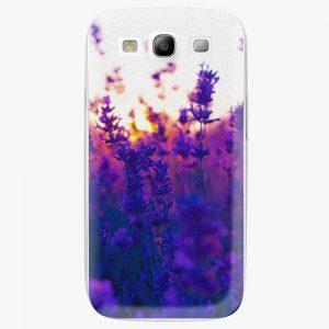 Plastový kryt iSaprio - Lavender Field - Samsung Galaxy S3