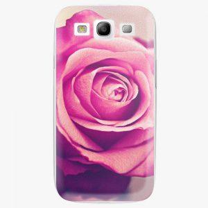 Plastový kryt iSaprio - Pink Rose - Samsung Galaxy S3