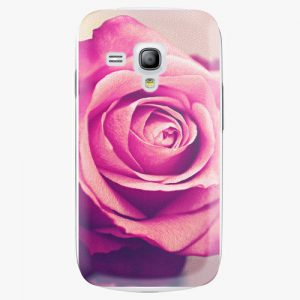 Plastový kryt iSaprio - Pink Rose - Samsung Galaxy S3 Mini