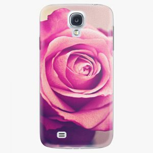 Plastový kryt iSaprio - Pink Rose - Samsung Galaxy S4